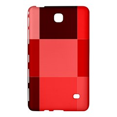 Red Flag Plaid Samsung Galaxy Tab 4 (8 ) Hardshell Case  by Alisyart