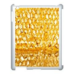 Honeycomb Fine Honey Yellow Sweet Apple Ipad 3/4 Case (white) by Alisyart