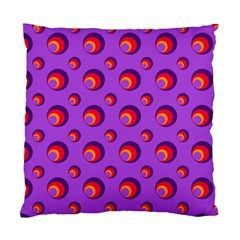 Scatter Shapes Large Circle Red Orange Yellow Circles Bright Standard Cushion Case (one Side) by Alisyart