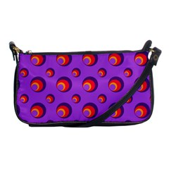 Scatter Shapes Large Circle Red Orange Yellow Circles Bright Shoulder Clutch Bags by Alisyart