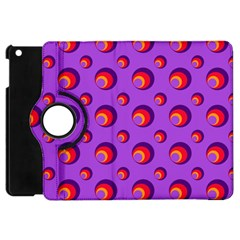 Scatter Shapes Large Circle Red Orange Yellow Circles Bright Apple Ipad Mini Flip 360 Case by Alisyart