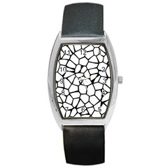 Seamless Cobblestone Texture Specular Opengameart Black White Barrel Style Metal Watch by Alisyart