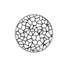 Seamless Cobblestone Texture Specular Opengameart Black White Hat Clip Ball Marker (4 Pack) by Alisyart