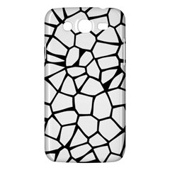 Seamless Cobblestone Texture Specular Opengameart Black White Samsung Galaxy Mega 5 8 I9152 Hardshell Case  by Alisyart