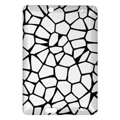 Seamless Cobblestone Texture Specular Opengameart Black White Amazon Kindle Fire Hd (2013) Hardshell Case by Alisyart