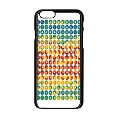 Weather Blue Orange Green Yellow Circle Triangle Apple Iphone 6/6s Black Enamel Case by Alisyart