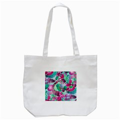 Frosted Sea Glass Tote Bag (white) by KirstenStar