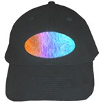Abstract Color Pattern Textures Colouring Black Cap