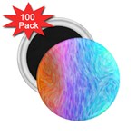 Abstract Color Pattern Textures Colouring 2.25  Magnets (100 pack)