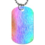 Abstract Color Pattern Textures Colouring Dog Tag (Two Sides)