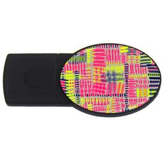 Abstract Pattern Usb Flash Drive Oval (4 Gb)