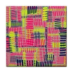 Abstract Pattern Face Towel by Simbadda
