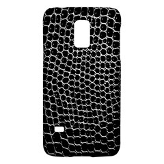 Black White Crocodile Background Galaxy S5 Mini by Simbadda