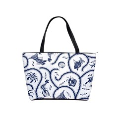 Fish Pattern Shoulder Handbags by Simbadda