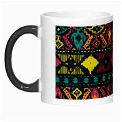 Traditional Art Ethnic Pattern Morph Mugs by Simbadda
