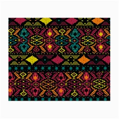 Traditional Art Ethnic Pattern Small Glasses Cloth by Simbadda