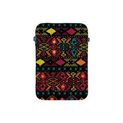Traditional Art Ethnic Pattern Apple Ipad Mini Protective Soft Cases by Simbadda