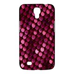 Red Circular Pattern Background Samsung Galaxy Mega 6 3  I9200 Hardshell Case by Simbadda