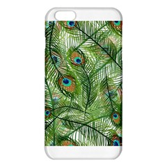 Peacock Feathers Pattern iPhone 6 Plus/6S Plus TPU Case by Simbadda
