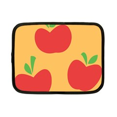 Apple Fruit Red Orange Netbook Case (Small)