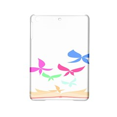 Colorful Butterfly Blue Red Pink Brown Fly Leaf Animals Ipad Mini 2 Hardshell Cases by Alisyart