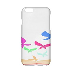 Colorful Butterfly Blue Red Pink Brown Fly Leaf Animals Apple Iphone 6/6s Hardshell Case by Alisyart
