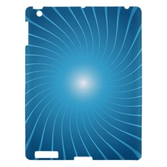Dreams Sun Blue Wave Apple Ipad 3/4 Hardshell Case by Alisyart