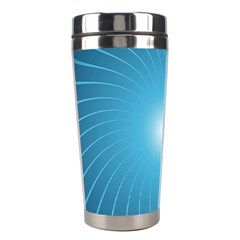 Dreams Sun Blue Wave Stainless Steel Travel Tumblers by Alisyart