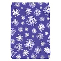 Aztec Lilac Love Lies Flower Blue Flap Covers (s)  by Alisyart