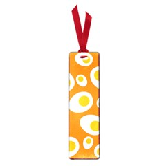 Orange Circle Egg Small Book Marks by Alisyart