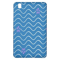 Springtime Wave Blue White Purple Floral Flower Samsung Galaxy Tab Pro 8 4 Hardshell Case by Alisyart