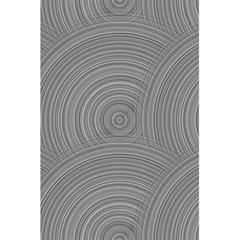 Circular Brushed Metal Bump Grey 5 5  X 8 5  Notebooks by Alisyart