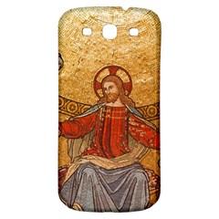 Gold Jesus Samsung Galaxy S3 S Iii Classic Hardshell Back Case by boho