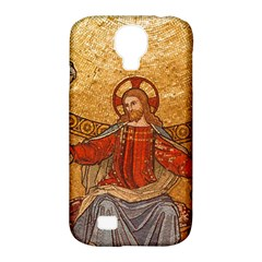 Gold Jesus Samsung Galaxy S4 Classic Hardshell Case (pc+silicone) by boho
