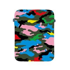 Rainbow Camouflage Apple Ipad 2/3/4 Protective Soft Cases by boho