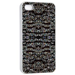 Black Diamonds Apple Iphone 4/4s Seamless Case (white) by boho