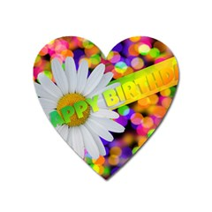 Happy Birthday Heart Magnet by boho