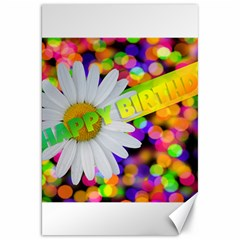 Happy Birthday Canvas 20  X 30   by boho