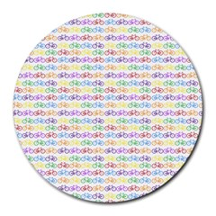 Bicycles Round Mousepads by boho
