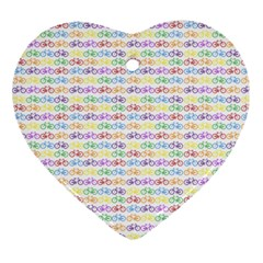 Bicycles Ornament (heart) by boho