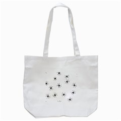 Spiders Tote Bag (white) by boho
