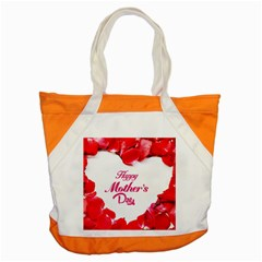 Happy Mothers Day Accent Tote Bag by boho