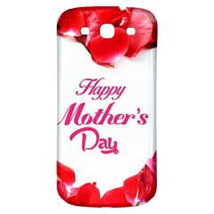 Happy Mothers Day Samsung Galaxy S3 S Iii Classic Hardshell Back Case by boho