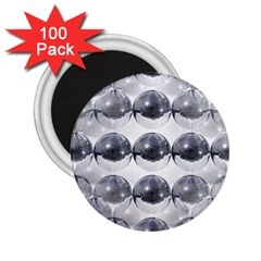 Disco Balls 2 25  Magnets (100 Pack)  by boho