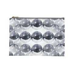 Disco Balls Cosmetic Bag (large)  by boho