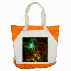 Art Shell Spirals Texture Accent Tote Bag by Simbadda