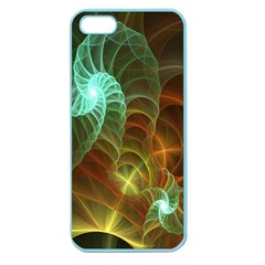 Art Shell Spirals Texture Apple Seamless Iphone 5 Case (color) by Simbadda