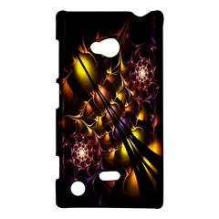 Art Design Image Oily Spirals Texture Nokia Lumia 720 by Simbadda