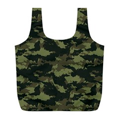 Camo Pattern Full Print Recycle Bags (l)  by Simbadda