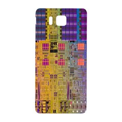 Circuit Board Pattern Lynnfield Die Samsung Galaxy Alpha Hardshell Back Case by Simbadda